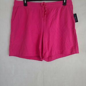 Karen Scott Sport Womens Plus Size Drawstring Waist Bermuda Shorts WP-135