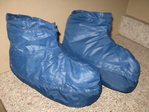 Vintage 1970s Outdoor Products- Goose Down Booties- Slippers- Mens? Very WARM
