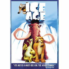 Ice Age (DVD, 2009, Dual Side Widescreen and Fullscreen) New Factory Sealed