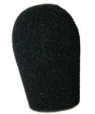 """Josephson C42 microphone Black Foam 3/4""""  Windscreen 1200 from WindTech 5070-12"""