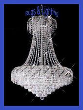 AUCTION Hilton Crystal Chandelier 22W 26H Dining Hallway Lighting Foyer Light