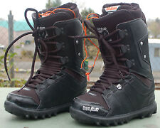 2013 NWOB WOMENS THIRTYTWO LASHED SNOWBOARD BOOTS $200 5 Black standard lacing