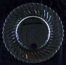 "Fostoria Glass COLONY 9-1/2"" Dinner Plate SWIRL * Clear"