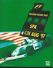 Spa F1 Program. 1997