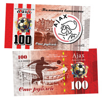 Russia 100 rubles 2020 Chelsea Football Club UNC