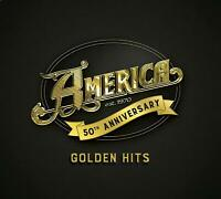 America 50: Golden Hits (2019) 50th Jubiläum 16-track CD Digipak Neu/Verpackt