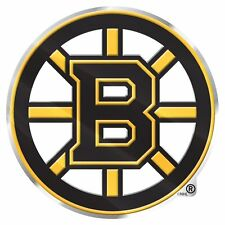 Boston Bruins Aluminum Metal Auto Emblem [NEW] NHL Car Decal Sticker CDG