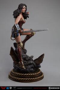 Batman v Superman 20 Inch Statue Figure Premium Format - Wonder Woman Sideshow