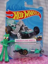 DIAPER DRAGGER #116✰turquoise;Tony's; 13✰HW RIDE-ONS 💗2019 i Hot Wheels case K