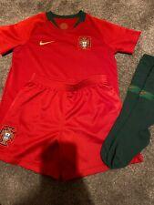 Boys Nike Portugal Kit 100% Real Ex Con Age 5-6 Nike Medium