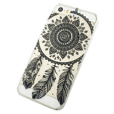 Black Transparent Dream Catcher Pattern Hard Case Cover For iPhone 5C Special