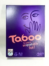 Taboo - The Game Of Unspeakable Fun Hasbro Gaming Family Board Used
