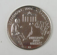 Cameroon Coin 1500 CFA 1 Africa 2006 UNC, FOOTBALL WORLD CHAMPIONSHIP GERMANY