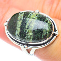 Lizard Jasper 925 Sterling Silver Ring Size 7 Ana Co Jewelry R56882F