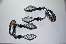 4 Indicadores LED Mini bandido Custom Cuerpo De Metal E Marcado En Stock