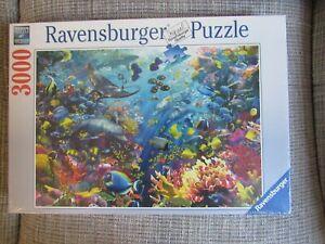 NEW SEALED Ravensburger 3000 piece Underwater Paradise