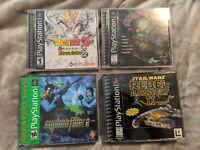 PlayStation PS1 Assorted Game Lot - Oddworld Syphon Filter 2 Dragon Ball Z UB22