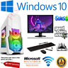 ULTRA FAST Gaming PC Bundle Intel Core i7 16GB 1TB Windows 10 GTX 1650 TFT SET