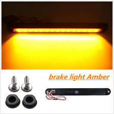 1Pc Yellow Amber 15 LED Car Truck SUV Trailer Stop Brake Turn Tail light Bar