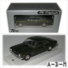 Holden HT Monaro GTS Coupe Green TR19C TRAX 1:43 Scale Diecast Model Car