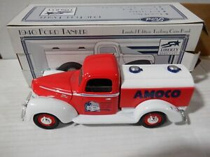 Ertl 1940 Ford Tanker Bank Red/White 1:25 Scale 052821DMT2