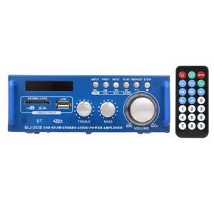 MINI AMPLIFICATORE DI POTENZA AUDIO 12V / 220V RICEVITORE AUDIO DIGITALE BT T1M5