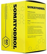 SOMATODROL 60 CAPSULES -INCREASE IN STRENGTH AND MUSCLES- FREE SHIPPING