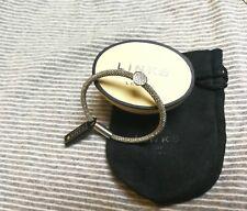 Authentic Links of London Bracelet Open Buckle Sterling Silver