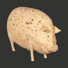 GLOUCESTER OLD SPOTS LARGE PIG FARMYARD IDEAL GIFT PIGGY CUTE ORNAMENT MODEL