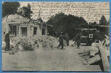 CPA: 2° Bataille de la Marne 1918 - Ruines à la Ferté-Milon / Guerre 14-18