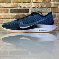 Nike Zoom Pegasus Turbo 2 Running Shoes Blue Black White Size 12 AT2863-009