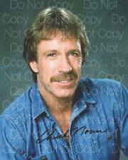 Chuck Norris Signed Walker Texas Ranger 8X10 photo picture autograph RP 3