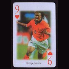 Tarjeta de fútbol de póquer elige uno