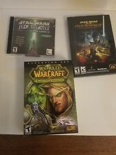 Mixed Video game lot/grab bag. used PS1, PC, Wii, PS2, Gamecube, PS3
