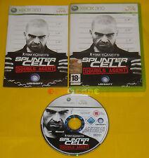 TOM CLANCY'S SPLINTER CELL DOUBLE AGENT XBOX 360 Vers Italiana 1ª Ediz ••• USATO