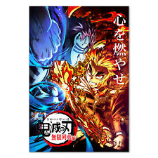 Demon Slayer: Kimetsu no Yaiba Movie: Mugen Train Poster 01 High Quality Prints