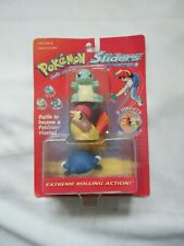 New Sealed Pokémon Sliders Hasbro 3-Pack #7 Squirtle #17 Pidgeotto #61 Poliwhirl