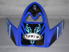 Spada Edge MX Motocross Helm Ersatz / ERSATZ VISIER - Motion blau