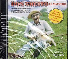 DON CHUITO - EL MAESTRO - CHUITO EL DE BAYAMON - CD