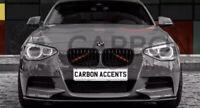 BMW 1 Series F20 F21 Gloss Black Kidney Grill Grille 11-14 Pre LCI - M 1 Slate