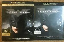 Batman Begins 4K Uhd + Blu Ray