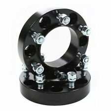Rugged Ridge Wheel Spacers 1.25-Inch Black 96-13 Toyota Tacoma 4Runner 15201.12