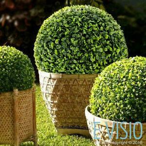 Realistic Indoor-Outdoor Artificial Green Buxus/ Grass Topiary Balls 12cm- 58cm