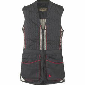 Seeland Skeet 11 Shooting Vest Waistcoat In Black