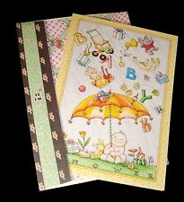 Mary Engelbreit Baby Shower Card with Embellished Envelope 2001 New