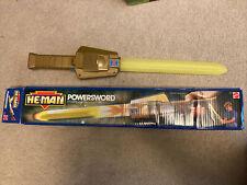 He Man 1989 Power Sword, With Box
