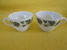 "Hutschenreuther Weinlaub SET OF TWO - DEMITASSE  CUPS  ""have more items to set*"