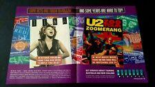 Tina Turner, U2 & Zoo Austrailian Tour Rare Original Print Promo Poster Ad
