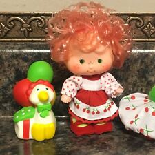 Vintage Strawberry Shortcake Dolls ~ CHERRY CUDDLER & GOOSEBERRY PARTY PLEASERS