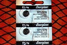 TIMEX Z Watch Batteries /2 Pieces 370/371 Energizer SR920SW